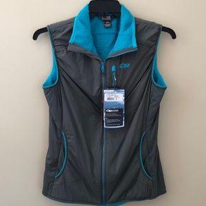 Outdoor Research women's zip up sleeveless vest M